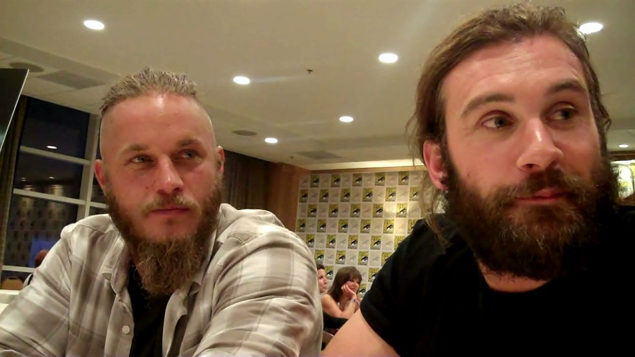 Rockin' Comics @SDCC 2013 w Vikings Roundtable Ragnar & Rollo 0 02 59-05